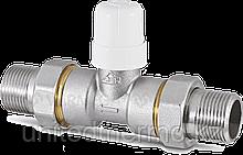 """Двухходовой 2X1"""" зонный клапан RBM с разборными соединениями"""