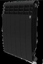 Радиатор алюминиевый Biliner 500/90 выпуклый Royal Thermo черный (РОССИЯ)