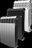 Радиатор алюминиевый Biliner 500/90 выпуклый Royal Thermo черный (РОССИЯ), фото 2