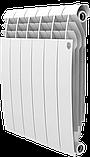 Радиатор алюминиевый Biliner 500/90 выпуклый Royal Thermo черный (РОССИЯ), фото 3