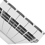 Радиатор алюминиевый Biliner 500/90 выпуклый Royal Thermo черный (РОССИЯ), фото 8