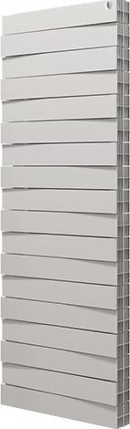 Радиатор биметаллический Pianoforte Tower 22 cекц. Royal Thermo белый (РОССИЯ)