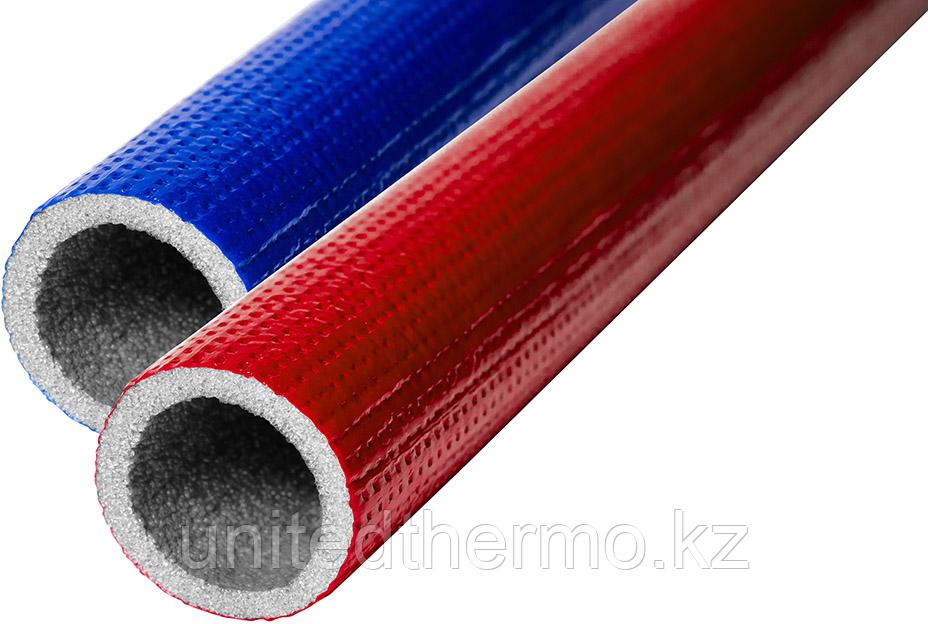 Трубчатая изоляция Ø28х9мм K-Flex PE COMPACT (Полиэтилен) цвет: красный и синий