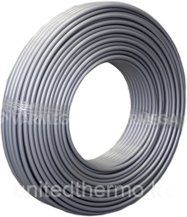 Труба 16x2.0 мм для теплого пола Varmega PE-Xb/EVOH  многослойная, цвет Серебро VM30501