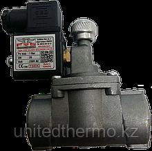 Клапан для газа ДУ15 с сигнализатором FRS пр-во Турция
