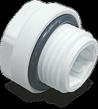 Заглушка 20 мм Fusitek с наружной резьбой