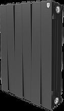 Радиатор биметаллический Pianoforte 500/100 Royal Thermo черный (РОССИЯ)