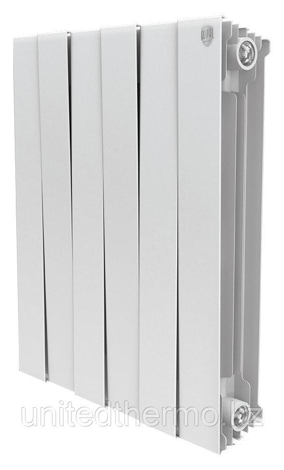 Радиатор биметаллический Pianoforte 500/100 Royal Thermo белый (РОССИЯ)
