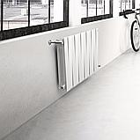 Радиатор биметаллический Pianoforte 500/100 Royal Thermo белый (РОССИЯ), фото 4
