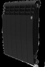 Радиатор биметаллический Biliner 500/90 Royal Thermo черный выпуклый (РОССИЯ)