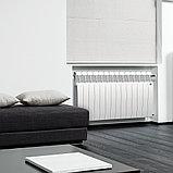 Радиатор биметаллический Biliner 500/90 Royal Thermo белый выпуклый (РОССИЯ), фото 4