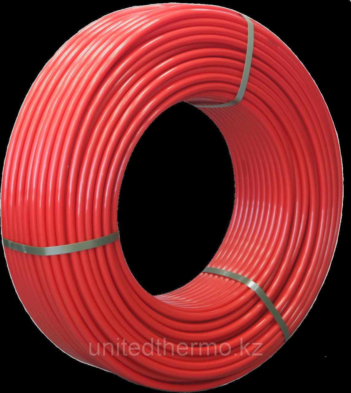 Труба  16x2.0 мм для теплого пола Varmega PE-RT II многослойная, цвет красный VM30301