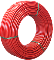 Труба 20x2.0 мм для теплого пола Varmega PE-RT/EVOH многослойная, цвет красный VM30302