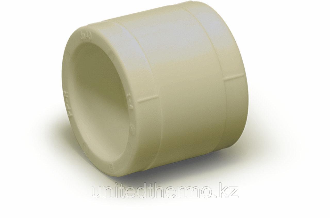 Муфта 40 мм  равносторонняя Fusitek (СЕРАЯ)