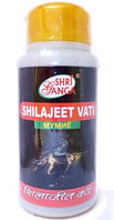 Шиладжит Мумиё Shilajeet vati , 100гр, 240 таб. Shri ganga