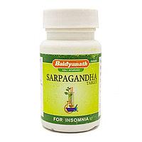 Сарпагандха (Sarpagandha) Baidyanath, 50 таб. для снижения кровяного давления, при бессоннице