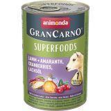 Animonda 400г с ягненком, амарантом, клюквой и лососевым маслом Консервы для взрослых собак GranСarno