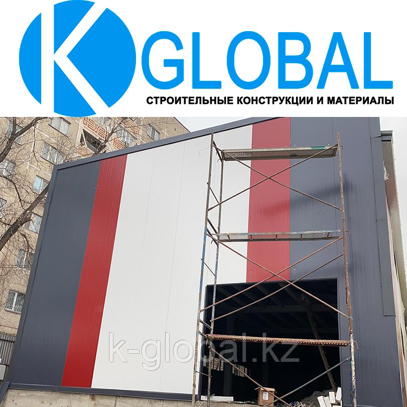 Услуги монтажа сэндвич панелей в Алматы, Качественно и Профессионально
