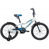 """Велосипед NOVATRACK 20"""" CRON, белый, алюм.рама, тормоз нож, короткие крылья, нет багажника"""