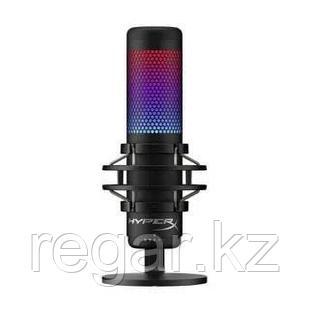 Настольный микрофон HyperX HMIQ1S-XX-RG/G Quadcast S на подставке