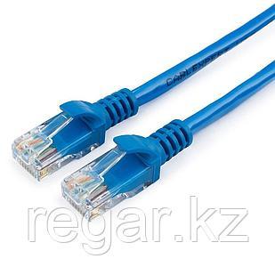 Патч-корд UTP Cablexpert PP12-15M/B кат.5e, 15м, литой, многожильный (синий)