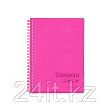 Блокнот А5 Comix CPA5801, 80 л., красный