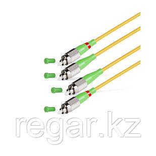 Патч Корд Оптоволоконный FC/APC-FC/APC SM 9/125 Duplex 2.0мм 1 м