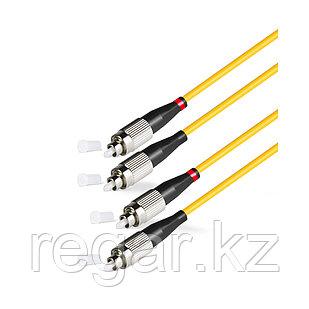 Патч Корд Оптоволоконный FC/UPC-FC/UPC SM 9/125 Duplex 2.0мм 1 м