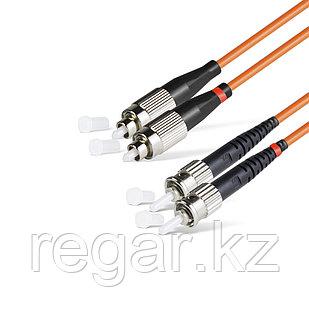 Патч Корд Оптоволоконный FC/UPC-ST/UPC MM OM1 62.5/125 Duplex 3.0мм 1 м