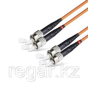 Патч Корд Оптоволоконный ST/UPC-ST/UPC MM OM1 62.5/125 Duplex 3.0мм 1 м