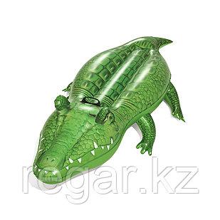 Надувная игрушка Bestway 41010 в форме крокодила для плавания