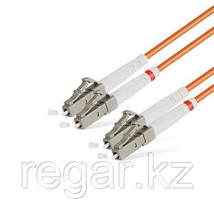 Патч Корд Оптоволоконный LC/UPC-LC/UPC MM OM2 50/125 Duplex 3.0мм 1 м