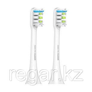 Сменные зубные щетки для Soocas X3U (2шт в комплекте) Белый