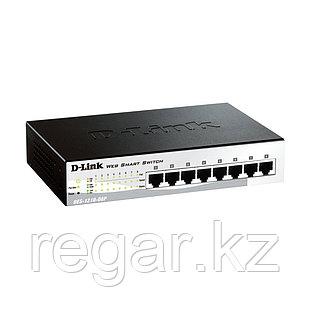 Коммутатор D-Link DES-1210-08P/C2A