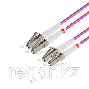 Патч Корд Оптоволоконный LC/UPC-LC/UPC MM OM4 50/125 Duplex 3.0мм 1 м