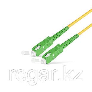 Патч Корд Оптоволоконный SC/APC-SC/APC SM 9/125 Simplex 2.0мм 1 м