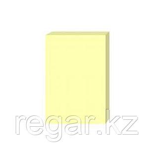 Стикеры бумажные самоклеющиеся Comix D5003, 76х101 мм., 100 л., упак./12 шт., жёлтый