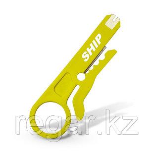 Инструмент для снятия изоляции и расшивки сетевого кабеля Ship G601 Стриппер