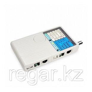 Кабельный тестер Ship G268 Для тестирования BNC RJ-45 RJ-11 USB