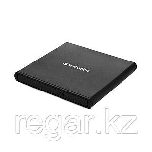 Внешний привод Verbatim CD/DVD 98938 Slim USB Чёрный