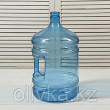 ПЭТ-бутыль, 18,9 л, поликарбонат, многооборотная, с ручкой