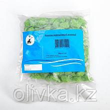 Декоративная крошка, зелёная, фракция 10-20мм, мешок 1кг