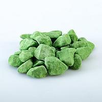 Декоративная крошка, зелёная, фракция 10-20мм, мешок 20кг