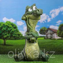 """Саддовая фигура """"Крокодил с детенышем"""""""