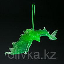 """Светящаяся декоративная подвеска """"Летучая мышь"""", 11 × 4 см"""
