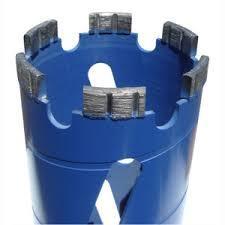 Алмазная коронка для сухой резки по бетону 114 мм