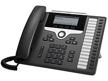 Cisco CP-7861-K9= IP-телефон,16 линий SIP с встроенным коммутатором 2 x FE RJ-45