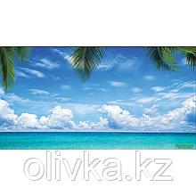 Фотобаннер, 300 × 158 см, с фотопечатью, люверсы шаг 1 м, «Море»