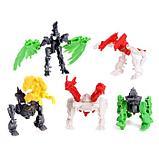 """Набор роботов """"Диноботы"""", трансформируется, 5 штук, собираются в 1 робота, фото 2"""