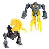"""Набор роботов """"Диноботы"""", трансформируется, 5 штук, собираются в 1 робота, фото 4"""